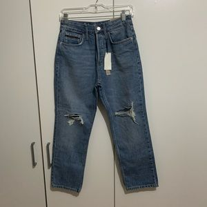 Calvin Klein Distressed Denim Jeans
